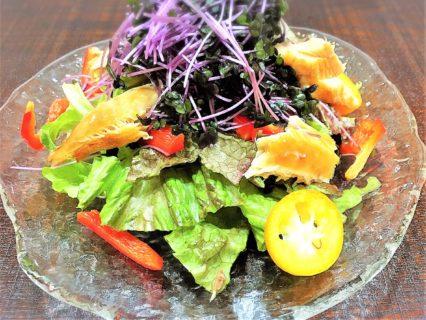 【レシピ紹介】スモーク鯖のサラダ