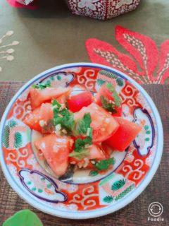 【レシピ紹介】トマトのナムル