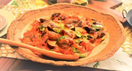 【レシピ紹介】茄子と鯖缶のトマト煮