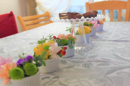 エッセイ・食べて笑って3「食卓に花を、庭に野菜を」