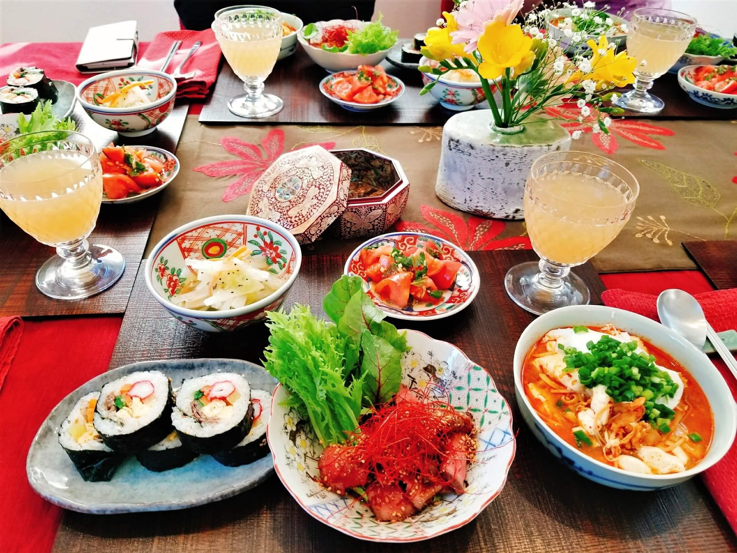 【イベント情報】2018年2・3月料理教室「韓国料理」